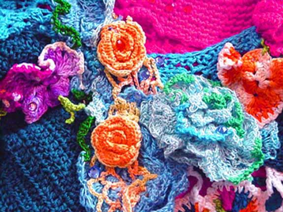 Crochet collage.